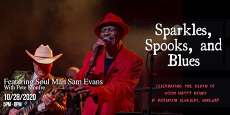 Sparkles, Spooks, and Blues tickets