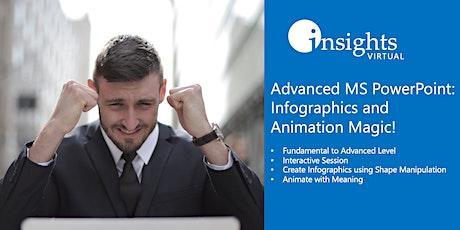 WEBINAR Advanced MS PowerPoint Training tickets