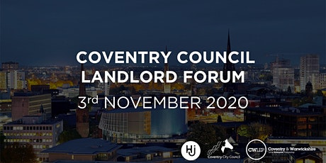 Coventry Council Landlord Forum - November 2020 tickets