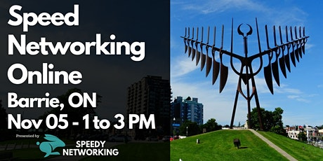 Barrie Business Speed Networking (Afternoon Edition) tickets