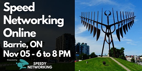 Barrie Business Speed Networking (Evening Edition) tickets