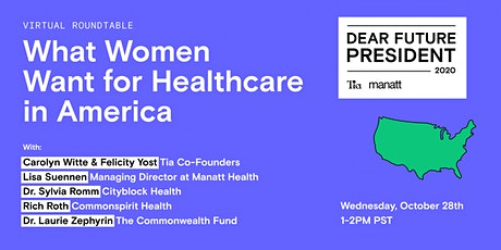 What Women Want for Healthcare in America tickets