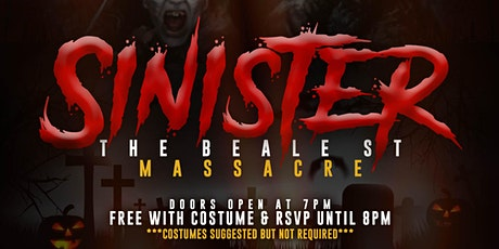 SINISTER The Beale St. Massacre tickets