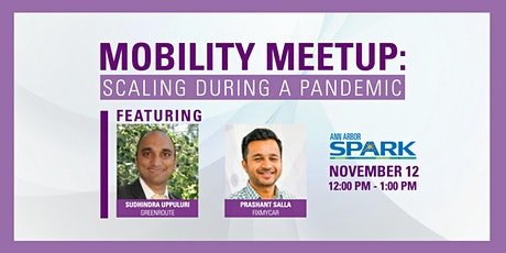 Mobility Meetup: Scaling During a Pandemic tickets