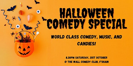 Halloween Comedy Special - Standup, Music, Costume tickets