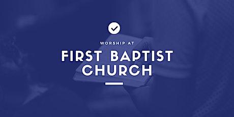 First Baptist Church 11:15AM Service - November 1, 2020 tickets
