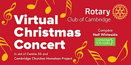 Virtual Christmas Concert tickets