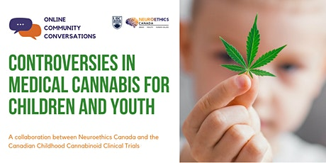 Controversies in Medical Cannabis for Children and Youth tickets