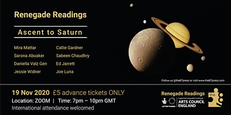 Ascent to Saturn: the87press host 8 poets. tickets