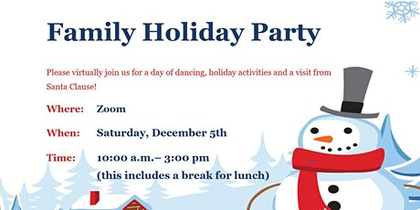 First Ever Virtual - Holiday Party tickets