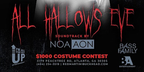 All Hallows Eve $1000 Costume Competition with NOA AON tickets