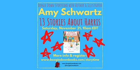 Virtual Boogie Down Storytime with Amy Schwartz (November 21) tickets