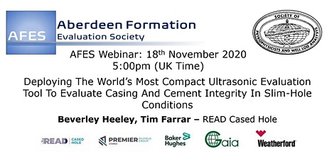 AFES November Technical Talk: Deploying The World's Most Compact Ultrasonic tickets