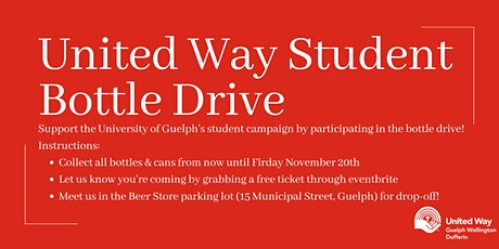 United Way Student Bottle Drive tickets