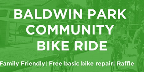 Baldwin Park Community Bike Ride [Postponed] tickets