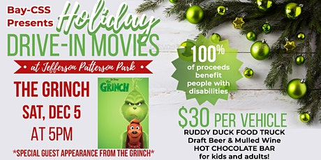 Bay-CSS Holiday Drive-In Movie - The Grinch tickets