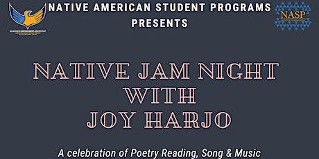 NASP Native Jam Night with Joy Harjo tickets