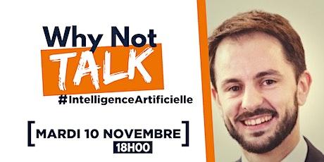 Why Not Talk - Intelligence Artificielle by Joffrey Martinez billets