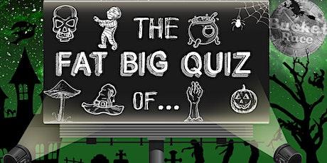 BucketRace The Fat Big Quiz of... Halloween tickets