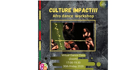 'Culture Impact' afro dance class tickets