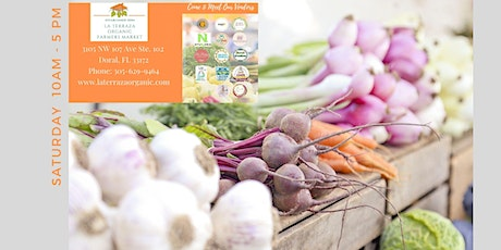 LA TERRAZA ORGANIC FARMERS MARKET | 10 am - 5 pm tickets