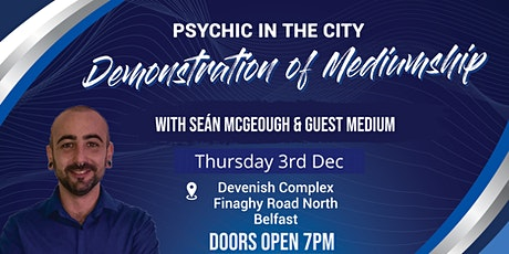 Christmas Demonstration of Mediumship tickets