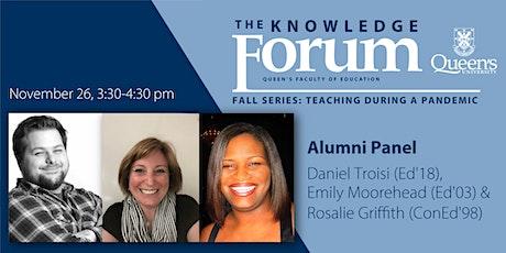 The Knowledge Forum Fall Series: Alumni Panel tickets