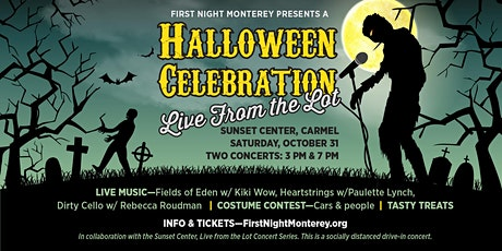 First Night Monterey presents Halloween at Sunset Center, Live from the Lot tickets