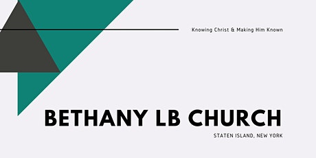 Bethany Church In-Person 11/1 (& Communion) tickets