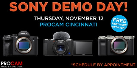 Sony Demo Day! tickets