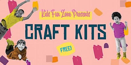 FREE Craft Kits At  Anaheim Town Square's Kids Fun Zone tickets