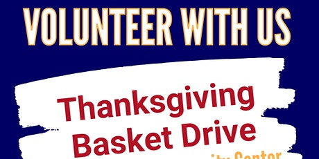 Thanksgiving  Basket Drive at The Goodman Community Center tickets