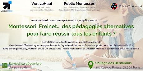 Montessori, Freinet... des pédagogies pour faire réussir tous les enfants ? billets