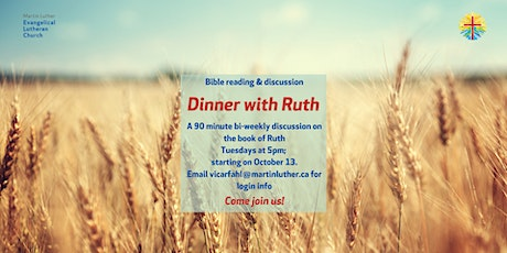 Dinner with Ruth tickets