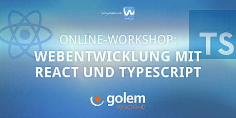 Webentwicklung mit React and Typescript Tickets