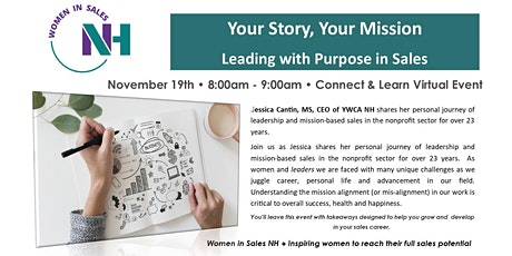 Your Story, Your Mission | Leading with Purpose in Sales tickets