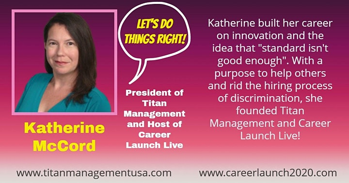 Career Launch Live: Solving Discrimination In Hiring image