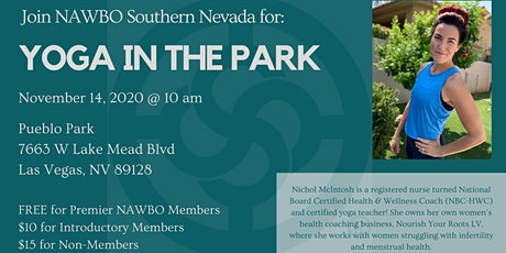 Yoga in the Park with NAWBO SNV tickets