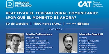 DIÁLOGOS DE TURISMO | Edición en VIVO | Capítulo 4 | 30 Oct. | 11.00 h entradas
