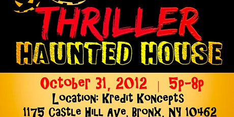 Thriller Themed Haunted House tickets