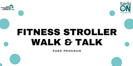 Copy of PARK PROGRAM - Fitness Stroller Walk & Talk tickets