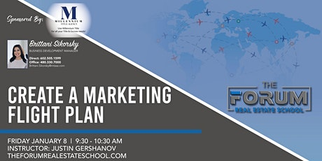 Create a Marketing Flight Plan - LIVE or VIEW on Facebook tickets