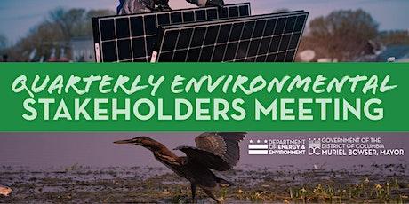 Quarterly Environmental Stakeholders Meeting tickets