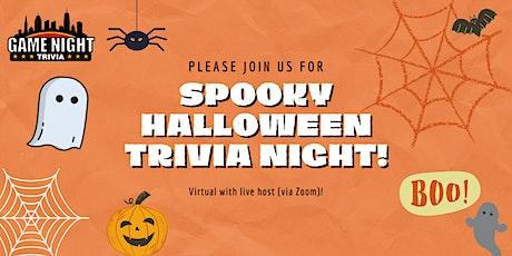 Spooky Halloween Trivia! tickets
