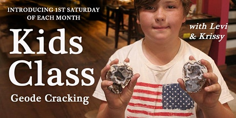 First Saturday Kids Class : Geode Cracking & Crafting tickets
