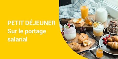 Paris - Petit déjeuner sur le portage salarial billets