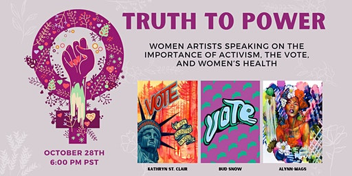 Truth to Power: the Importance of Activism, The Vote, & Women's Health