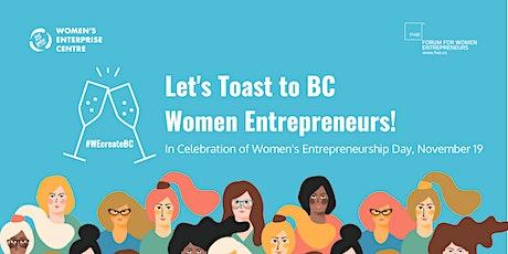 A Toast to Women Entrepreneurs on Women's Entrepreneurship Day