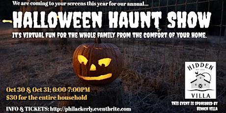 Hidden Villa Halloween Haunt Virtual  Show tickets
