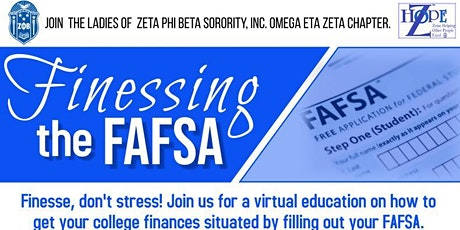 Finessing the FAFSA (Free Application for Federal Student Aid) tickets